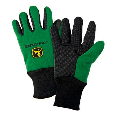 Youth John Deere Lightweight Work Gloves (Green) - LP42386