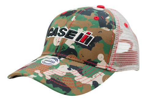 Youth Case IH Tractor Camo Mesh Back Hat/Cap - 15CIH055-YTH