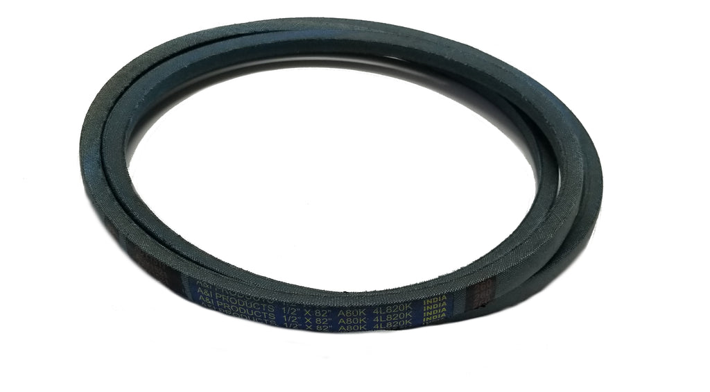 "A & I Products Blue Aramid-Fiber V-Belt (82"" x 1/2"") - A-A80K"