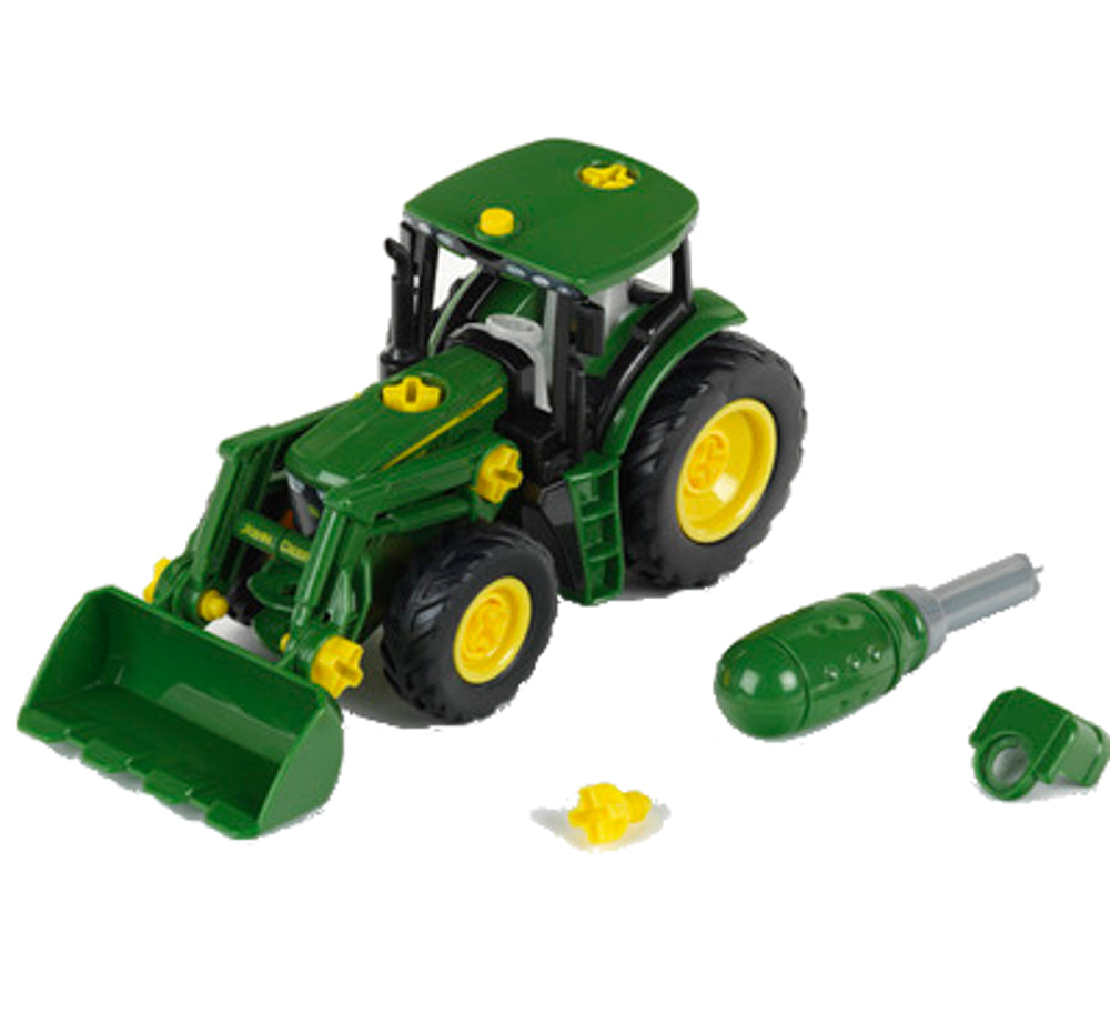 1/24 John Deere Tractor Front Loader & Weight Buildable Toy - LP66710
