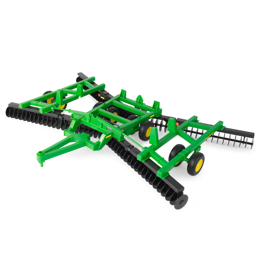 1/16 John Deere Big Farm Flex Fold Disk Toy - LP70547