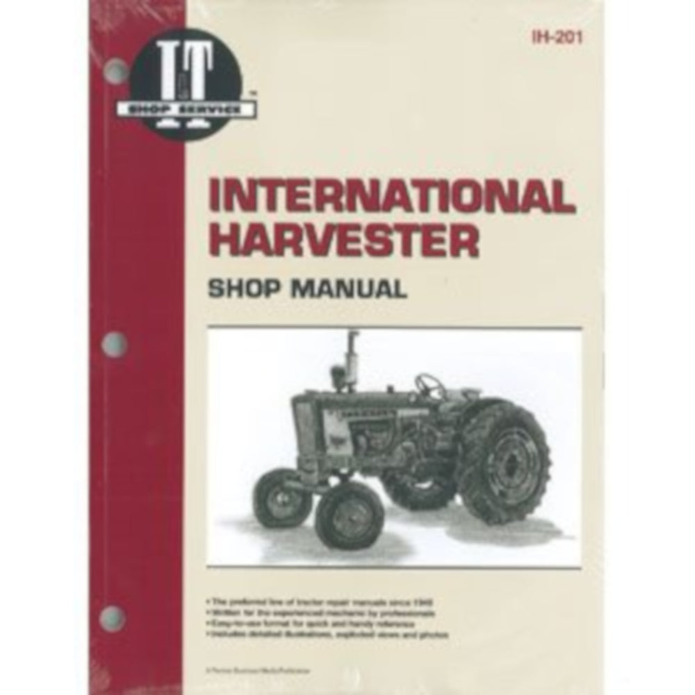 A&I 	International Harvester (Farmall) Shop Manual - A-SMIH201
