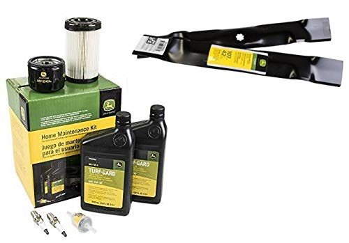 John Deere Original Equipment Full Maintenance Kit - LG275 + (2) GY20850 Blades