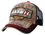 Case IH Youth Distressed Camo Black Mesh Back Hat/Cap - 14CIH048-YTH