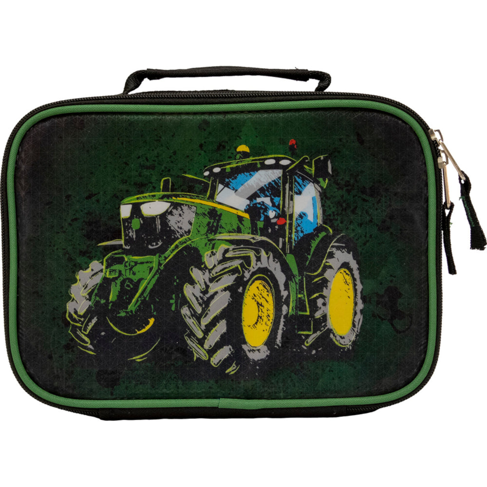 John Deere Boy's Black Tractor Lunchbox - LP70701