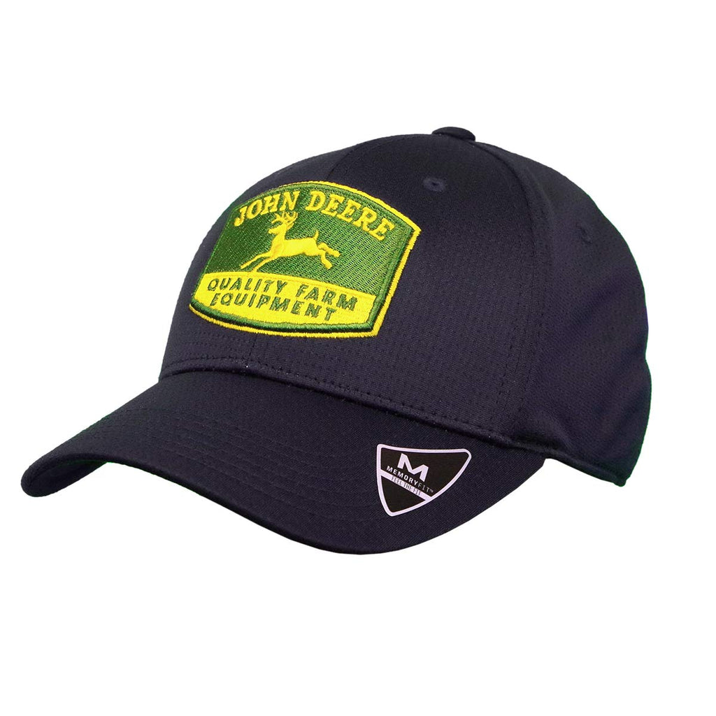 John Deere Men's Navy Memory Fit Cap - LP70338