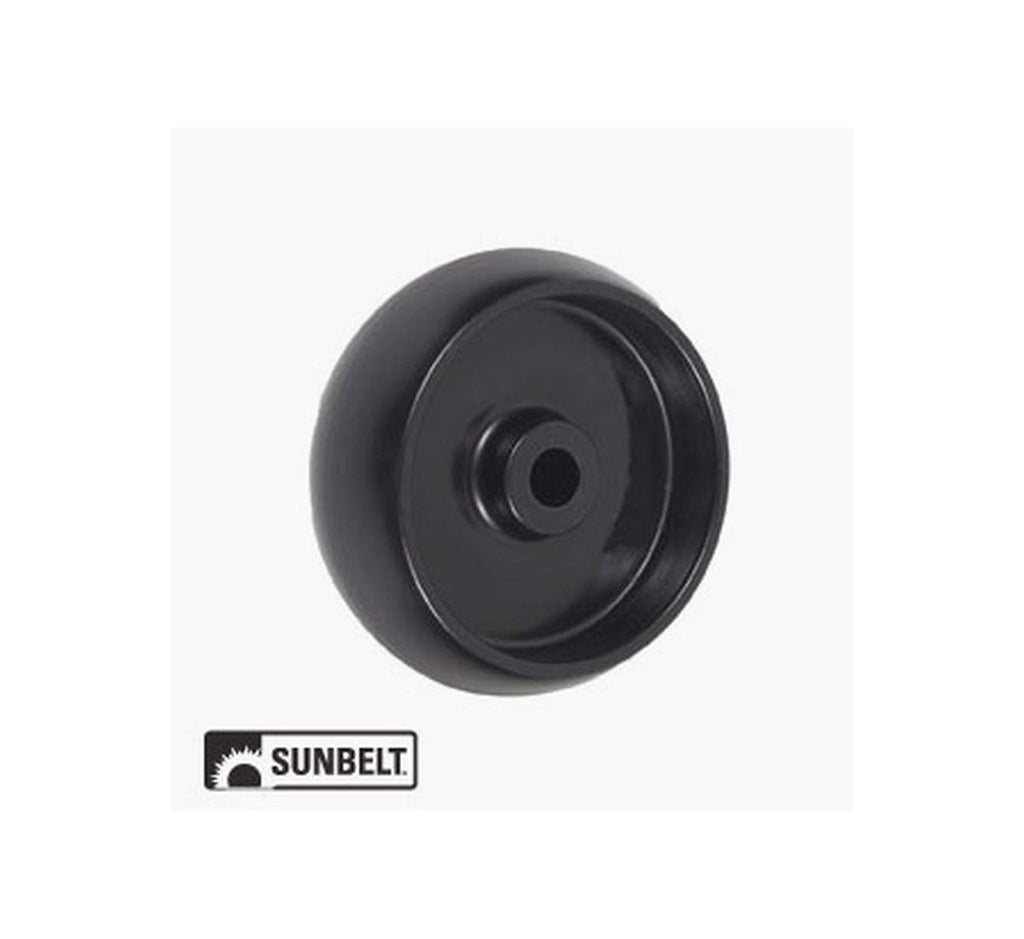 A&I Wheel-Deck, 5X2, Smooth, Black B1JD64