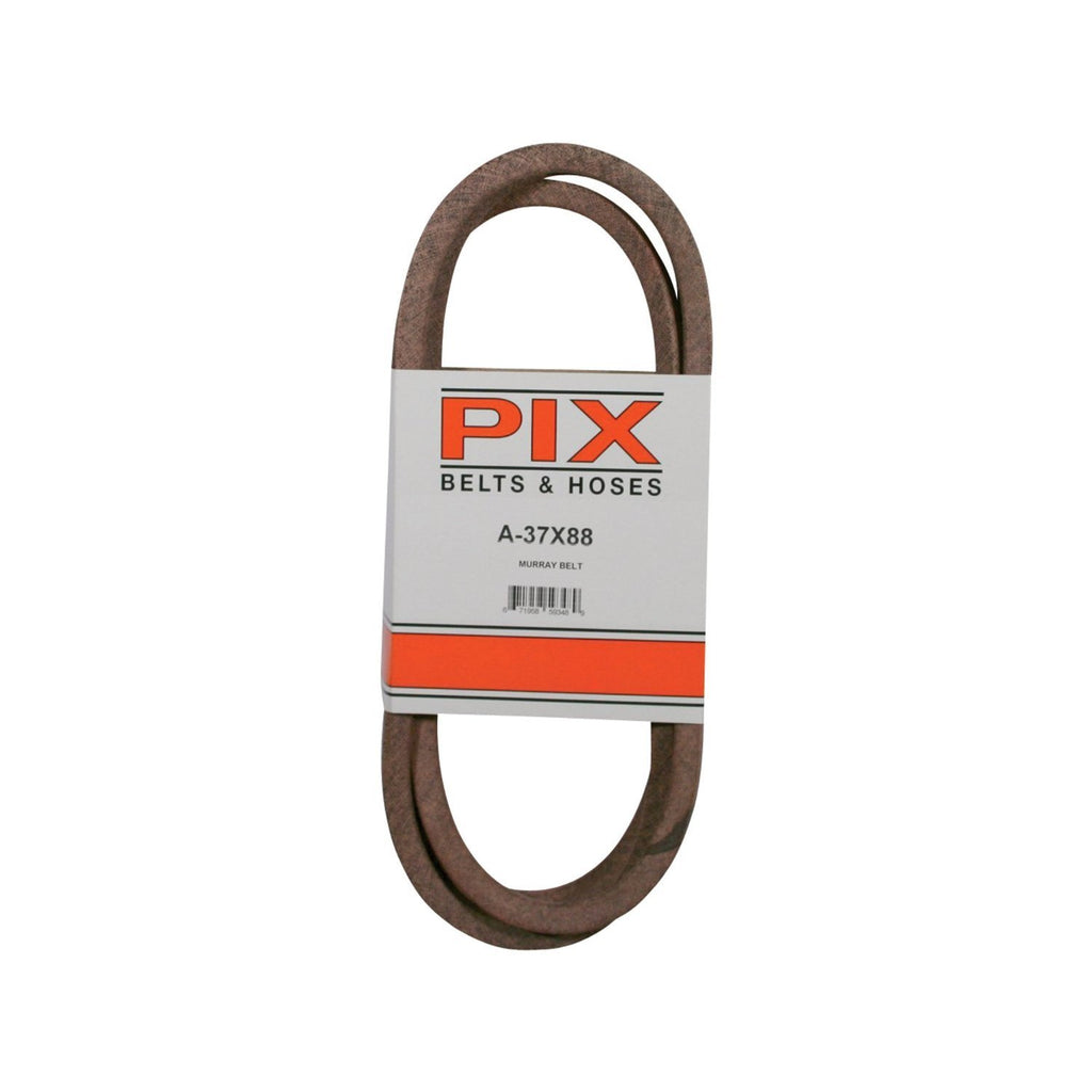 Pix A & I Products Blue Aramid-Fiber V-Belt - 88.24in.L x 1/2in.W, Model# A-37X88