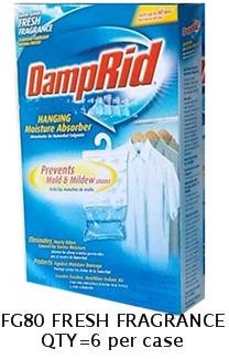 DAMPRID FG80 FRESH FRAGRANCE HANGING REFRESHER