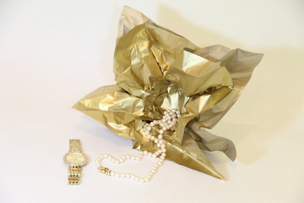 Tissue paper for jewellery