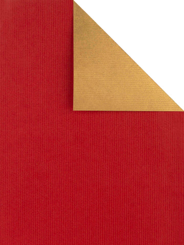 Carta da Regalo Sealing Avana Rosso / Oro double face