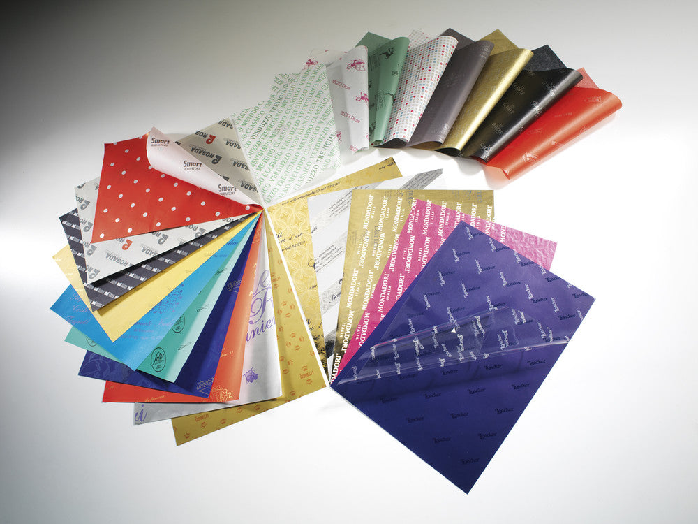 customized high quality tissue paper branded