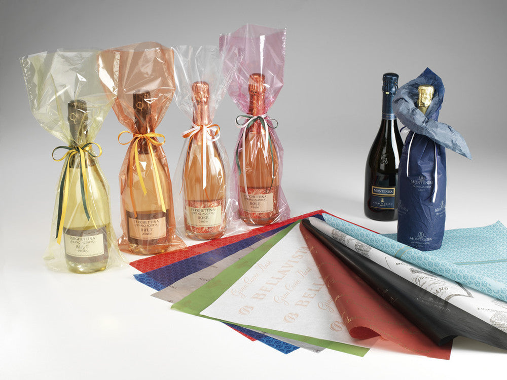 tissue paper for wine and anti-UV bag for bottles