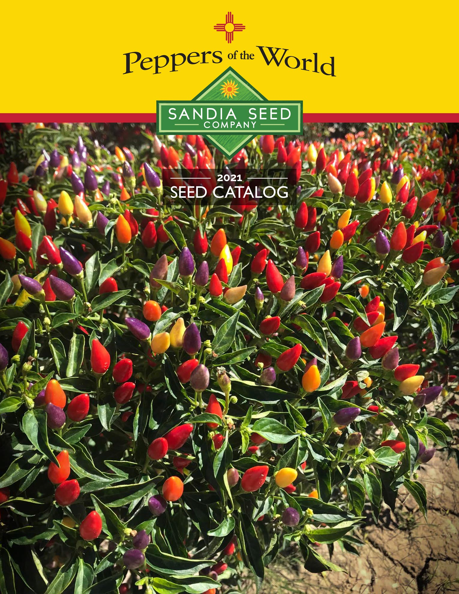 2021 Seed Catalog from Sandia Seed