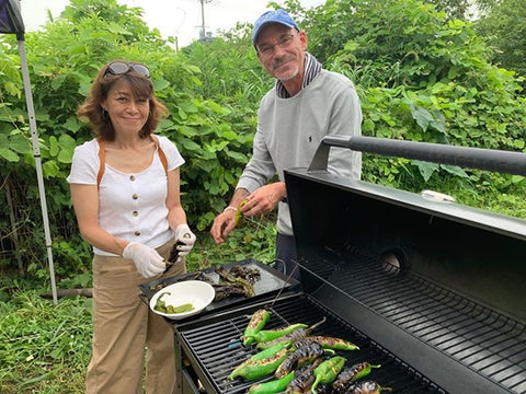 Growing Green Chile in Japan