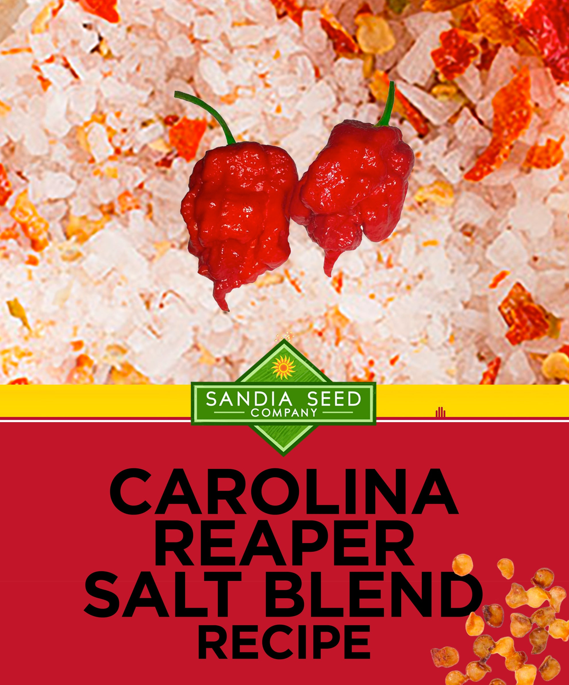 Carolina Reaper Salt Recipe