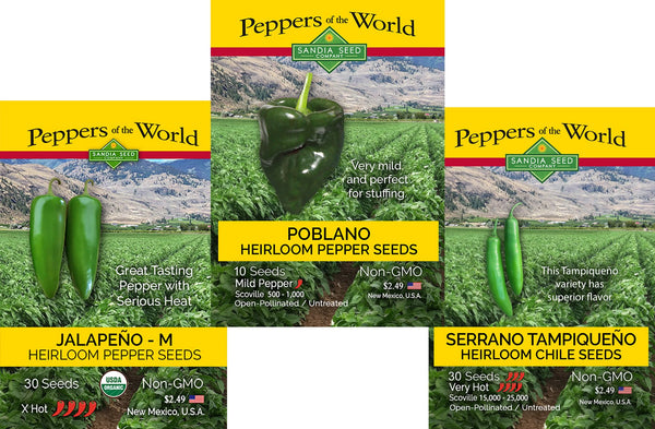 Cheap Vegetable Seeds - 3 Pack of Discounted Seeds from SandiaSeed.com