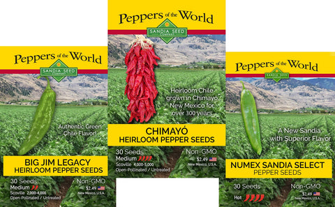 Cheap Veg Seeds - 3 Seed Packets for 15% Off