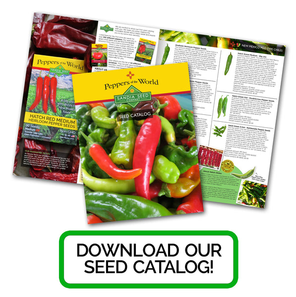 Download our New Seed Catalog!