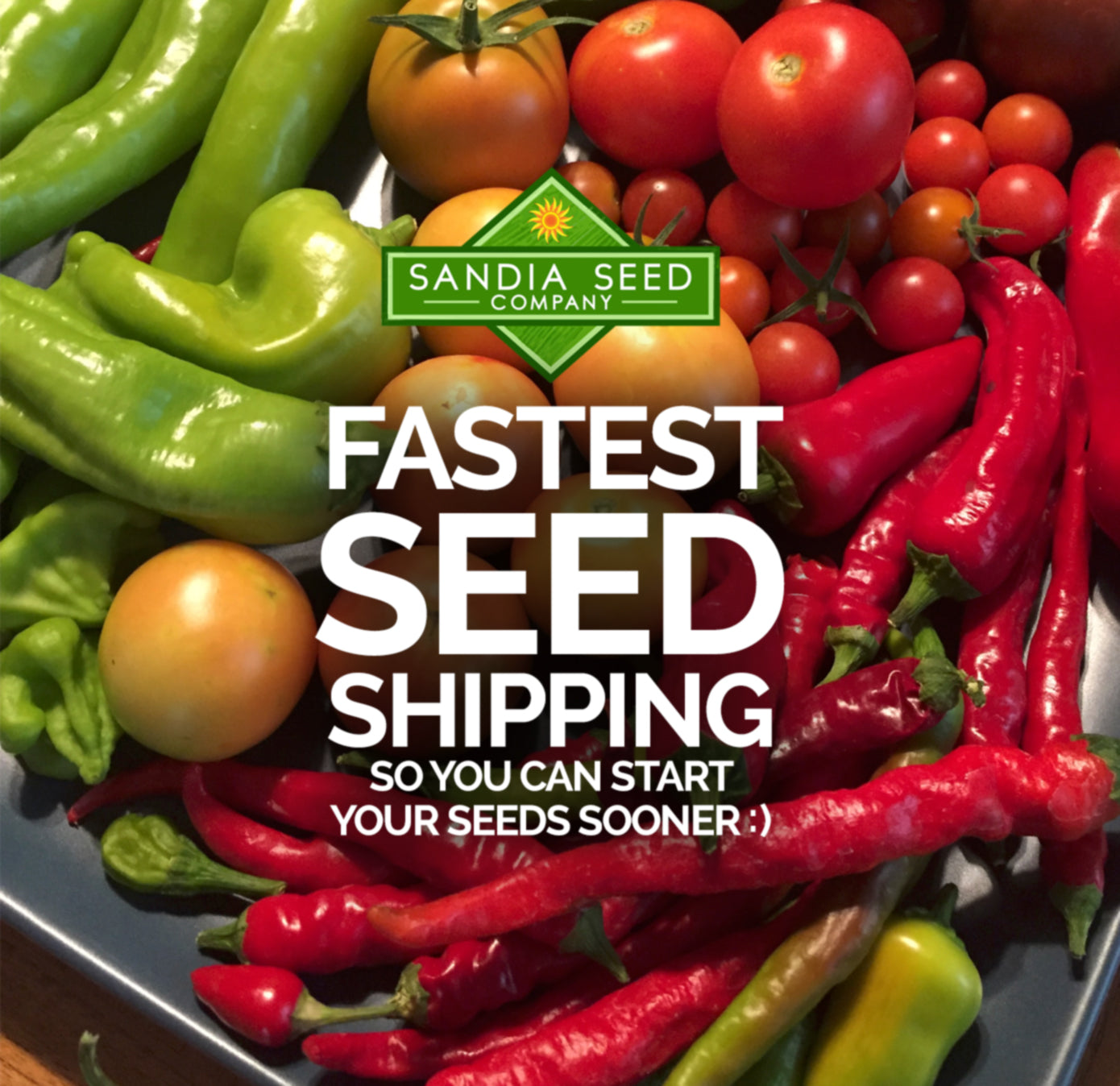 Fastest Seed Shipping from SandiaSeed.com