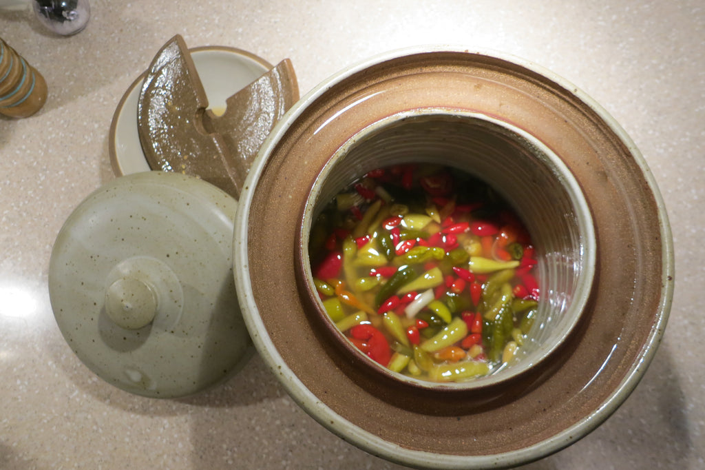 Fermented Hot Sauce Crock