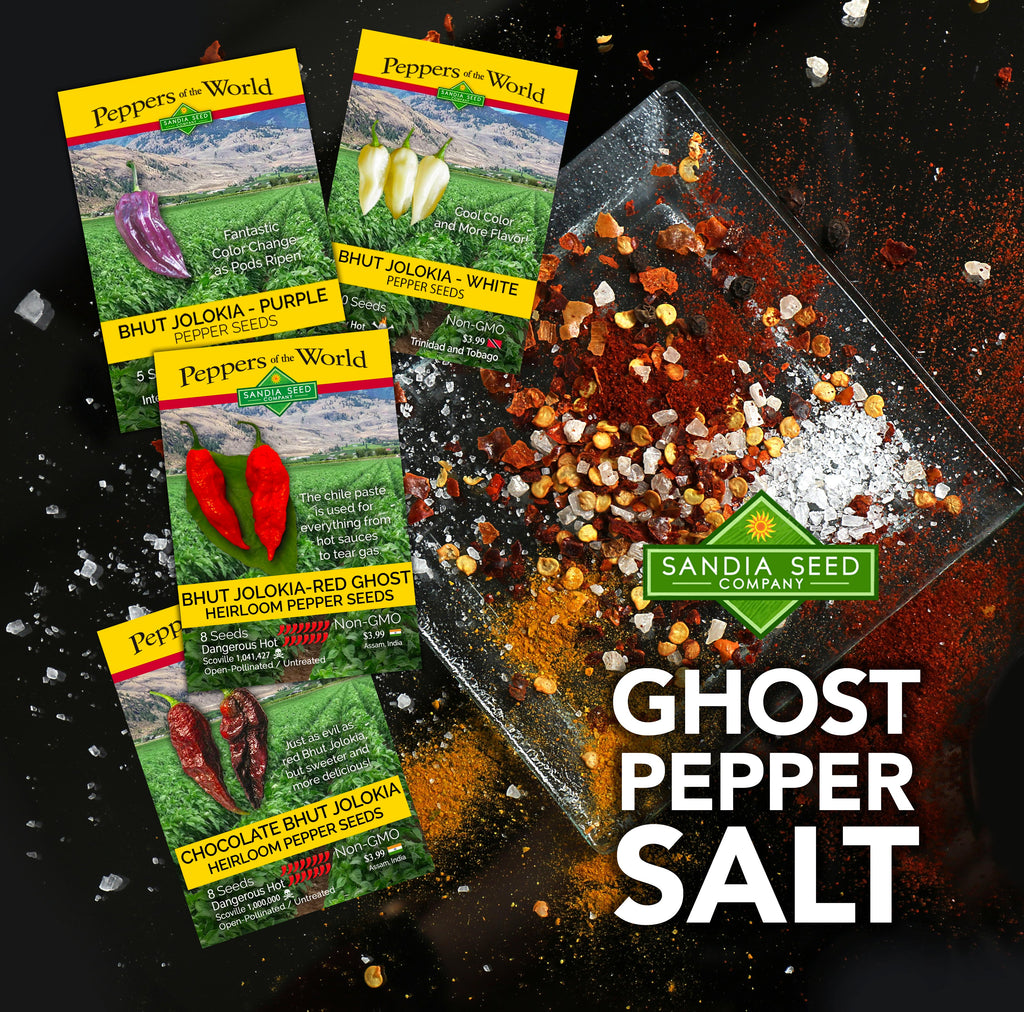 Ghost Pepper Salt Recipe