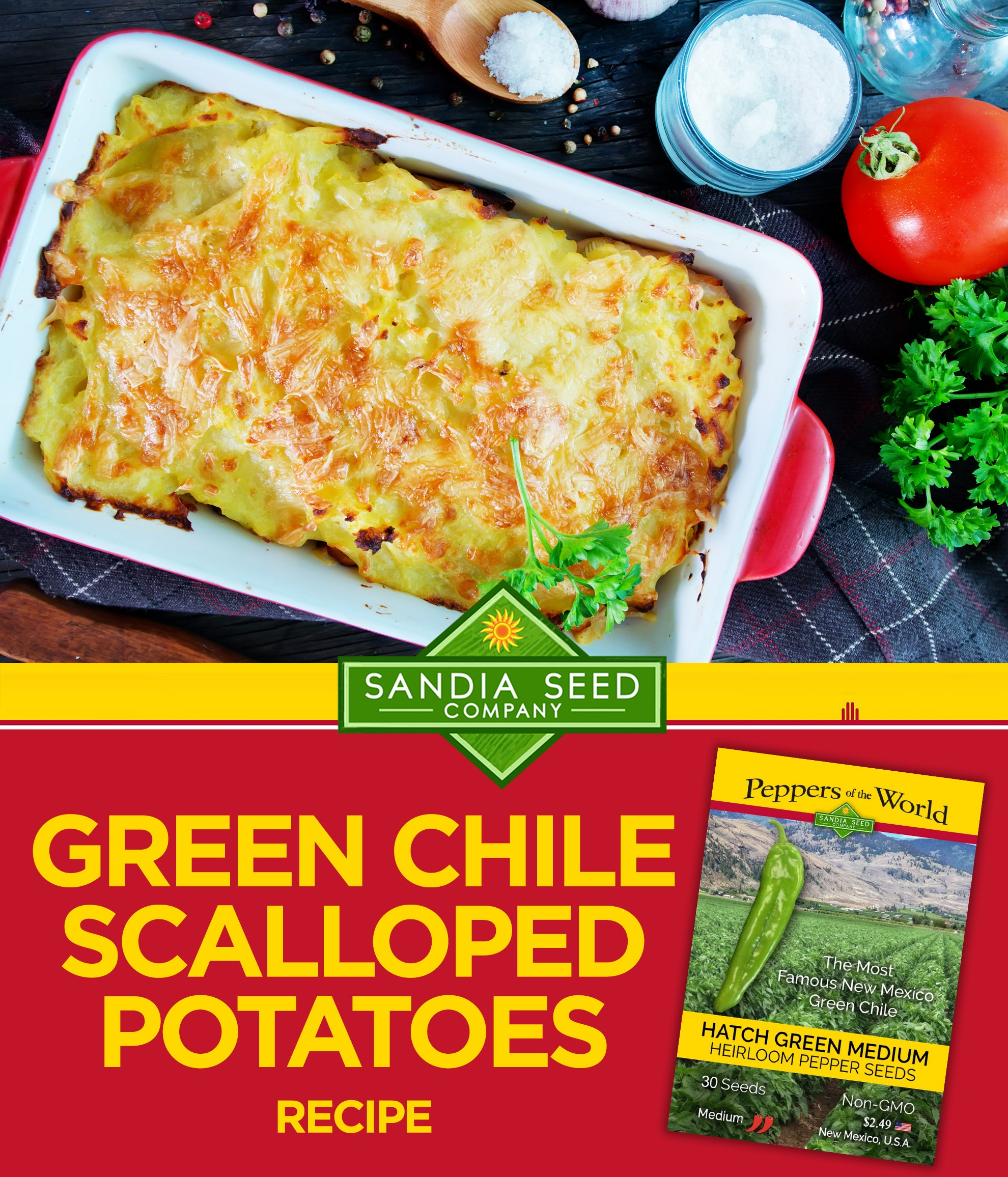 Best Green Chile Scalloped Potatoes Recipe