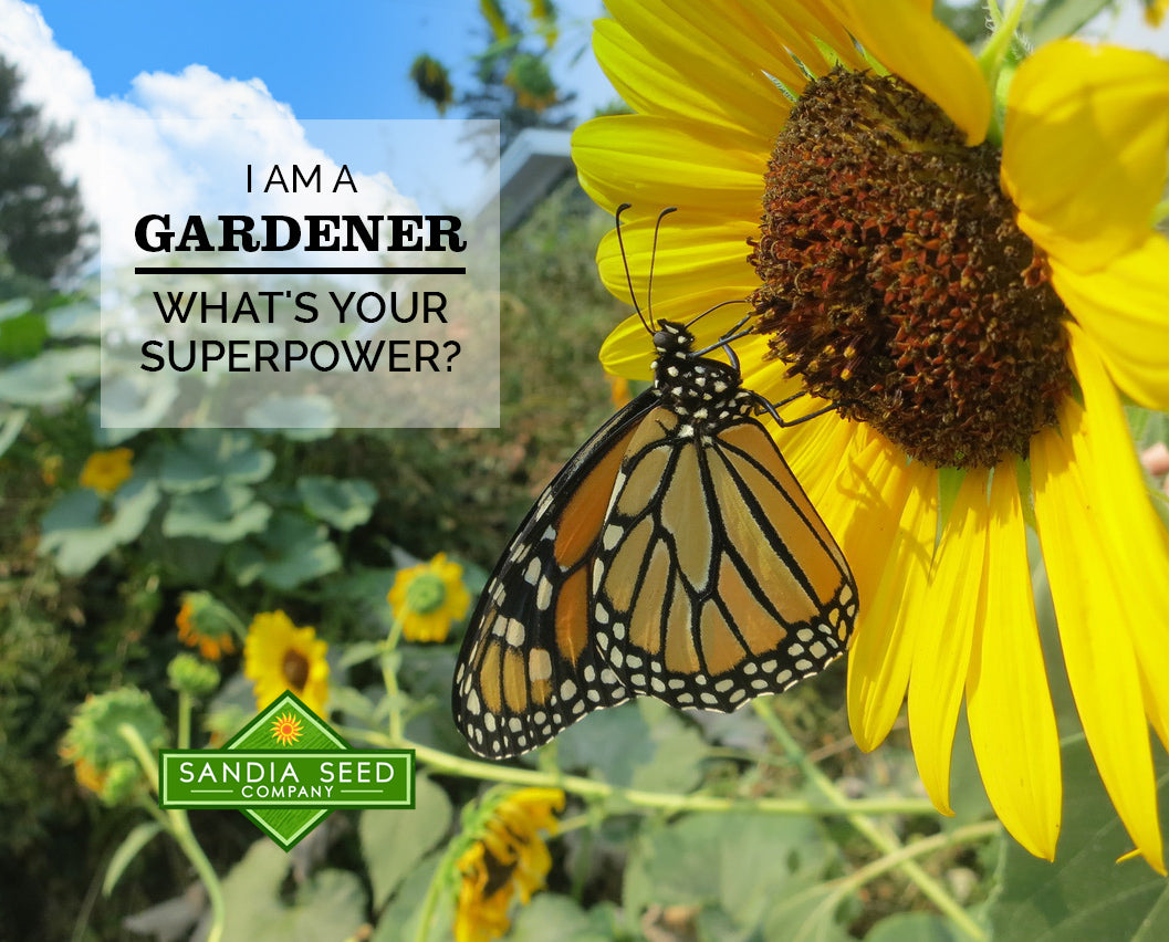 Gardening Quote: I am a Gardener. What's your Superpower?