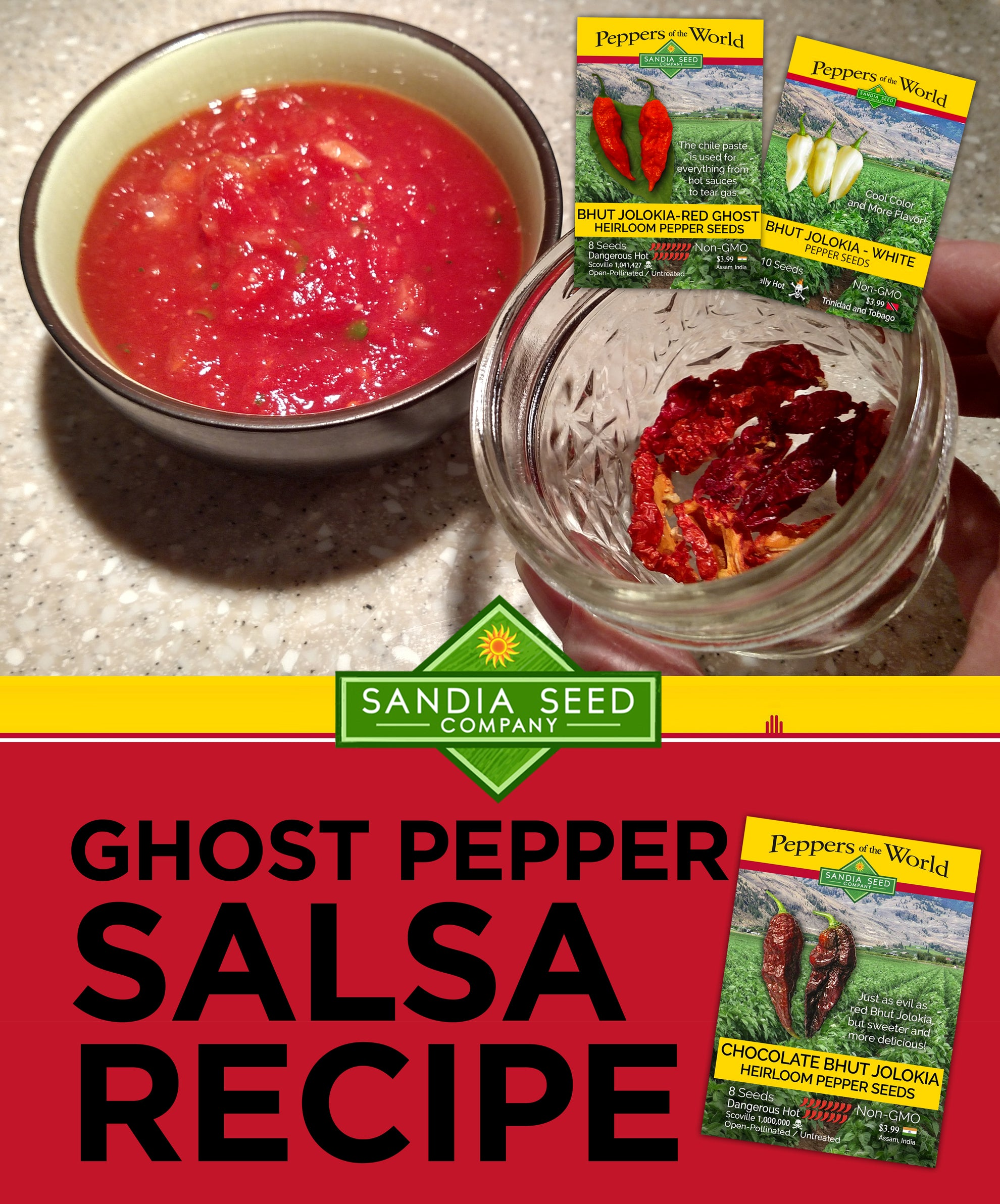 Ghost Pepper Salsa Recipe