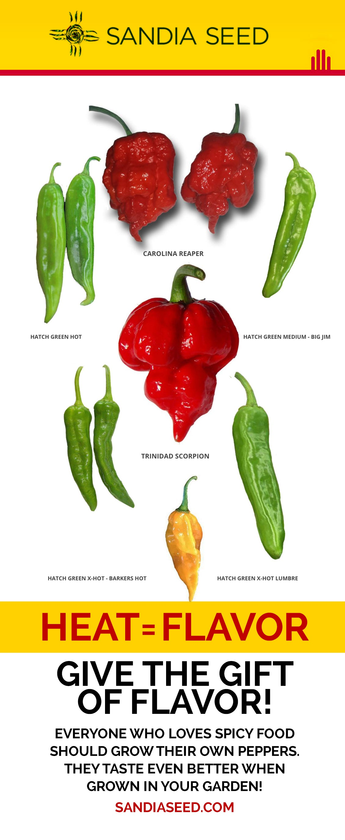 Pepper Seeds Are Great Gardeners Gifts