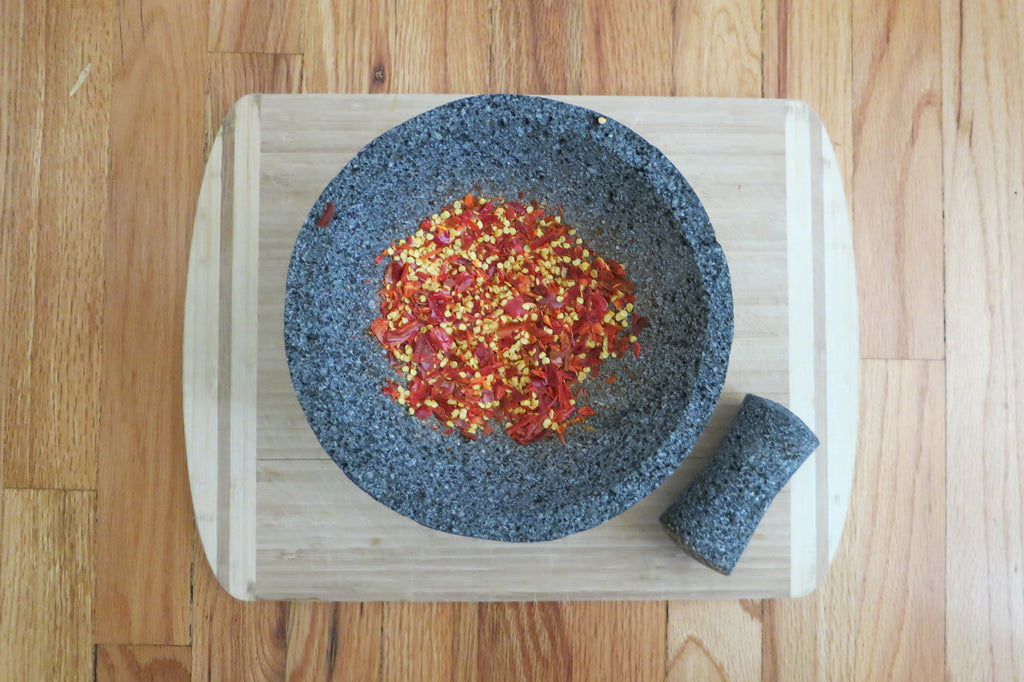 Molcajete for Chile Peppers