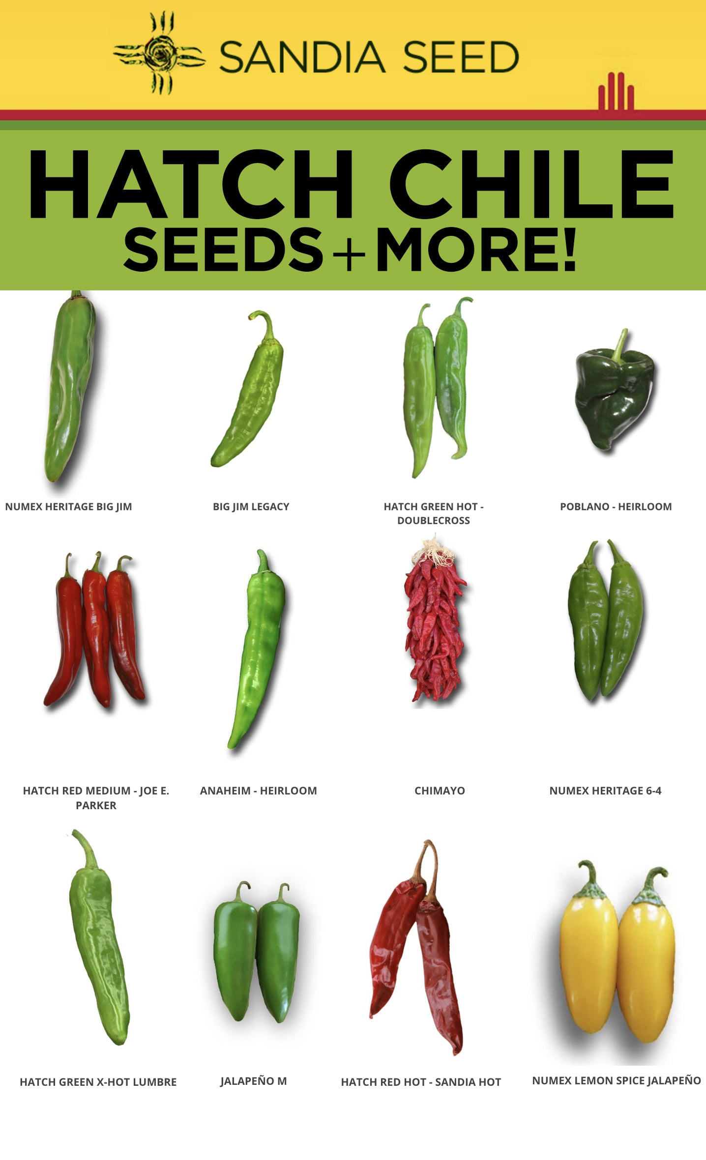 Where to buy Hatch Chile Seeds
