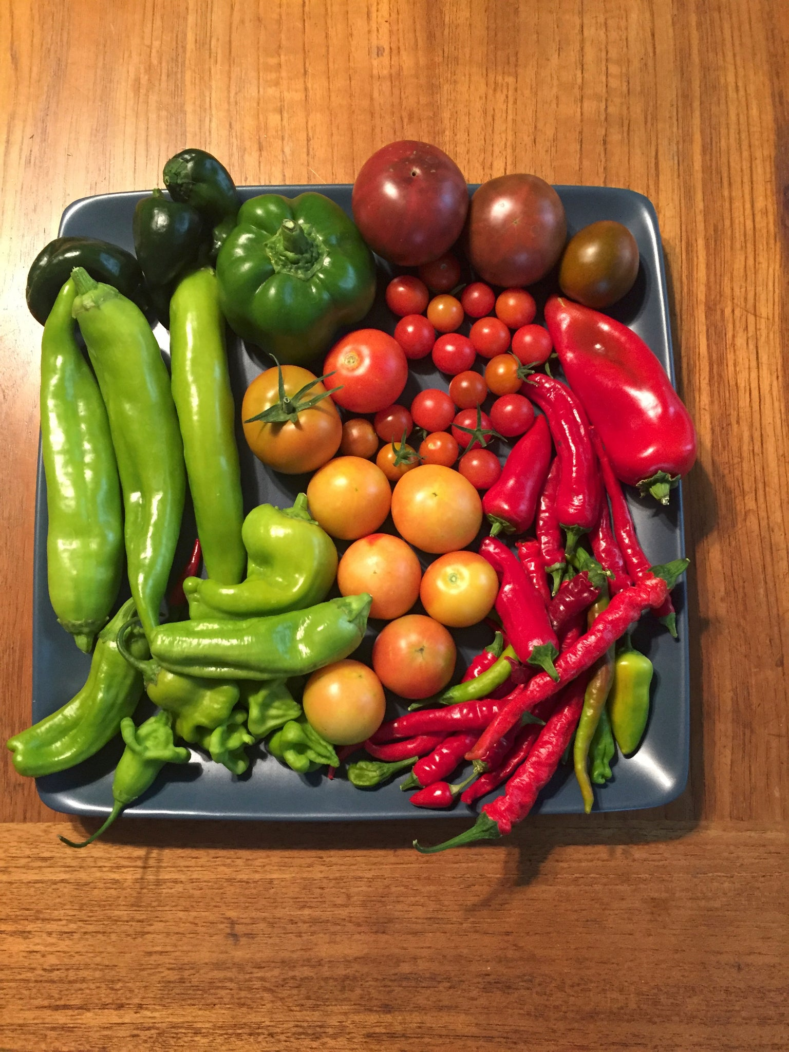 Harvest vegetables at the right time