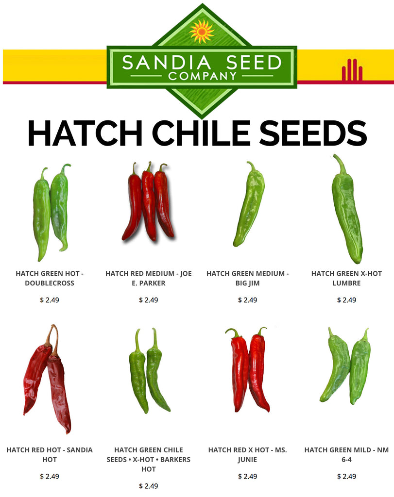 Hatch Chile Seeds - grow your own Hatch chile from seed!