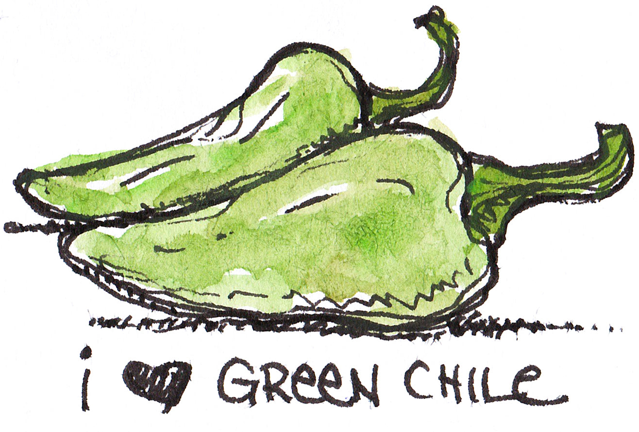 I love Green Chile - Seeds for Hatch Varieties