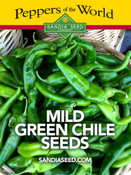 Mild Green Chile Seeds