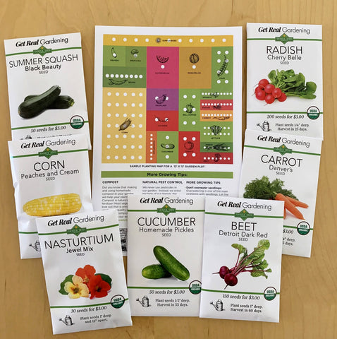 Gardening Gift Baskets - A Food Garden Seed Collection from Sandia Seed