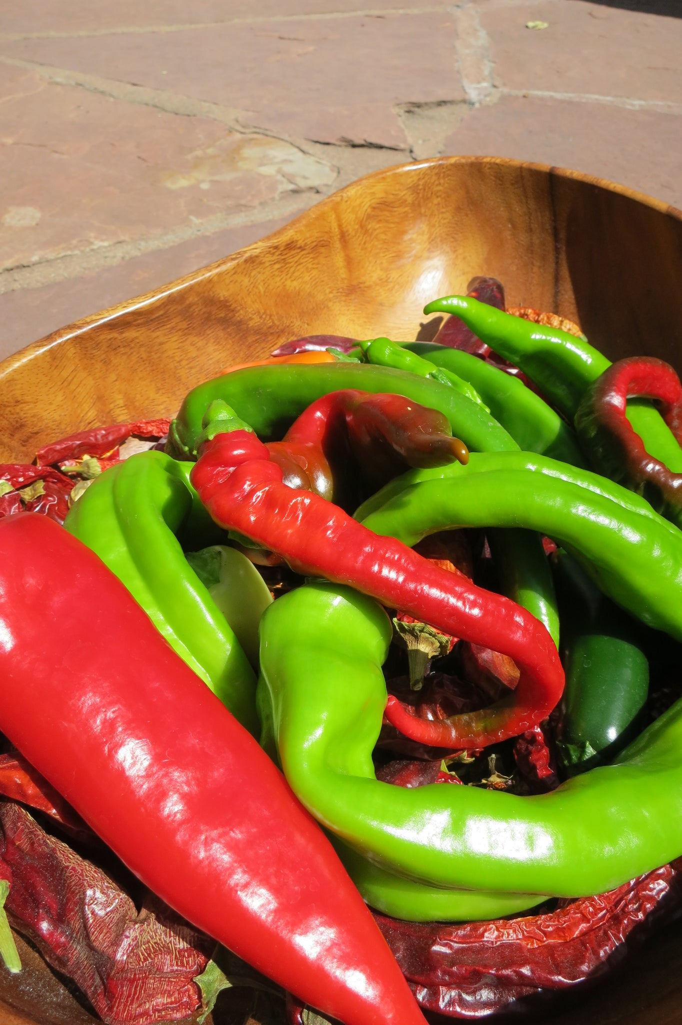 Red Chile is Mature Green Chile