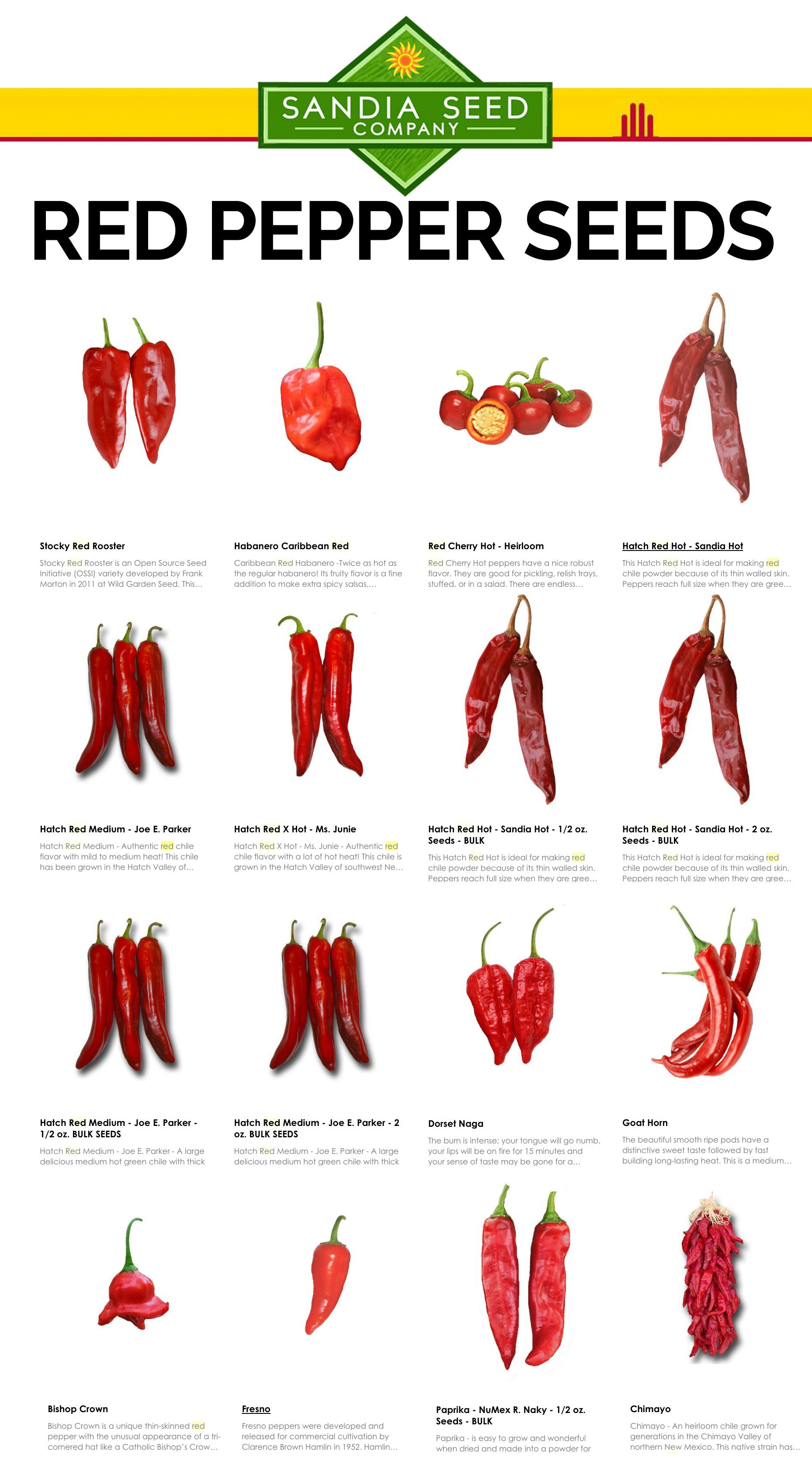 Best Salt Substitute: Hot Pepper Flakes - try using any of these red hot peppers!
