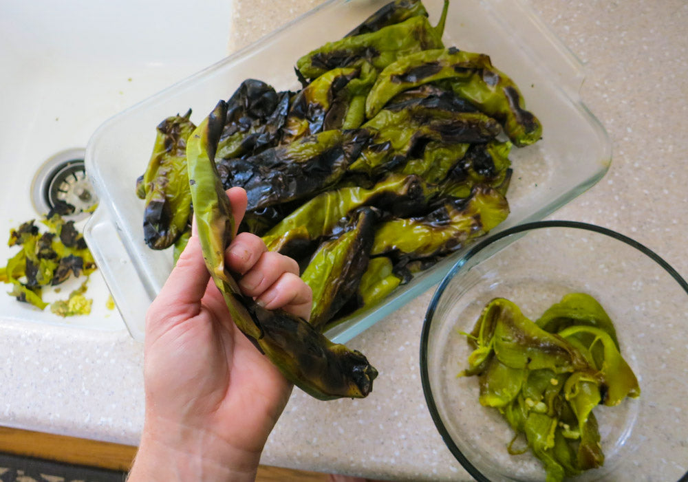 Roasted Green Chile recipe