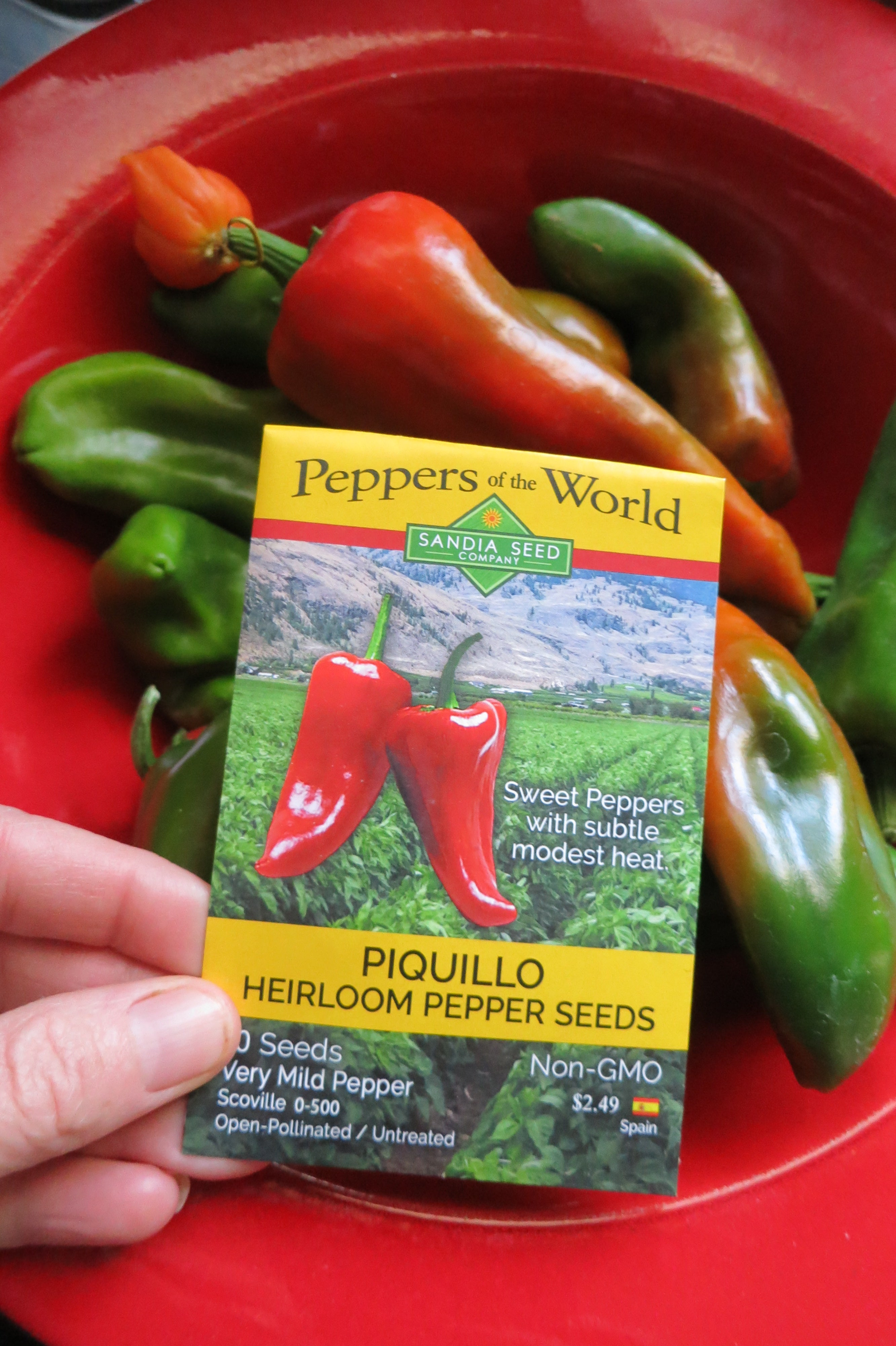 Piquillo Pepper Recipe - grow your own Piquillos!