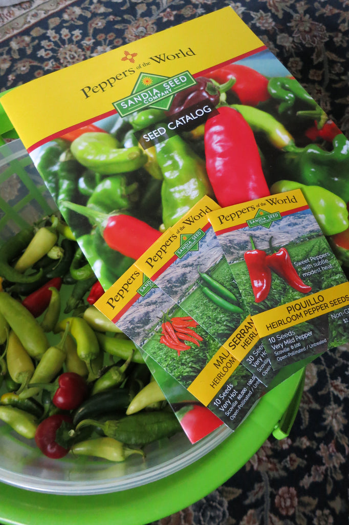 Seed Catalog for Green Chile Peppers