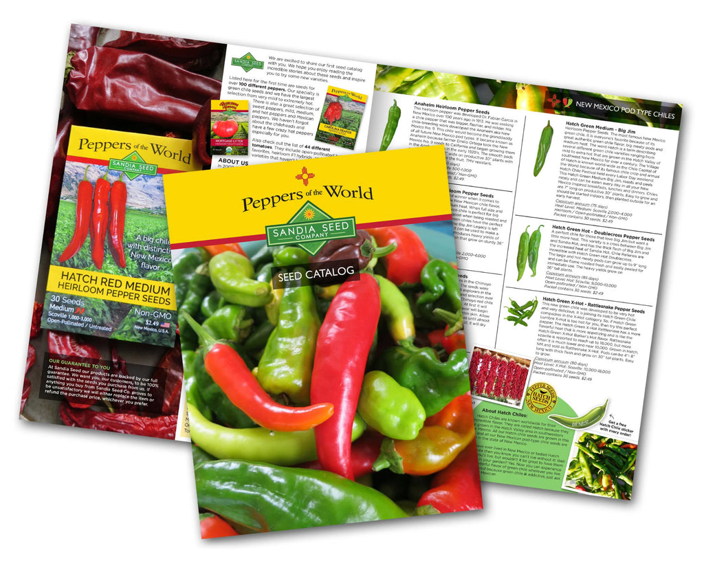 2020 Seed Catalog for Peppers and Tomato Seeds
