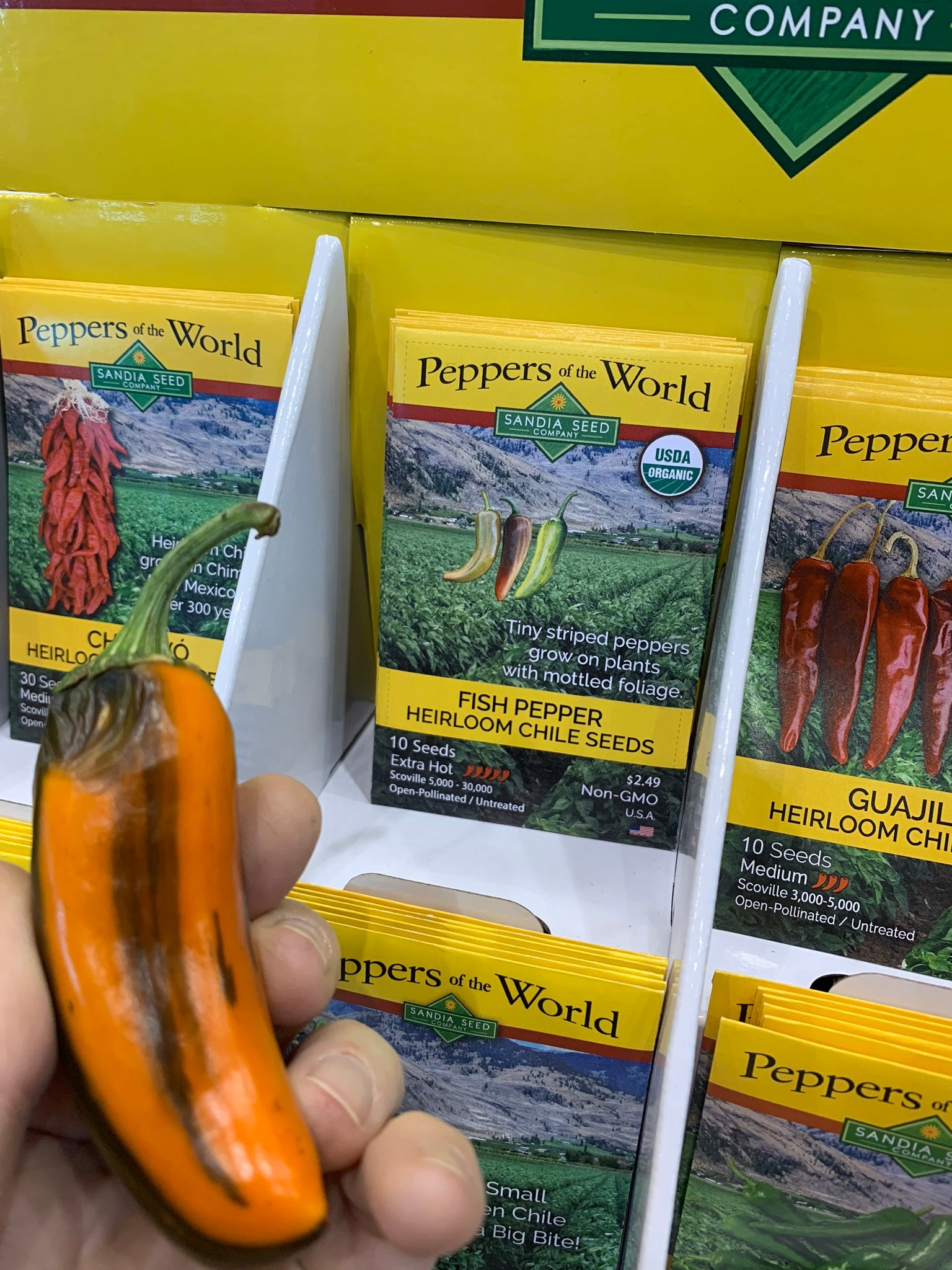 Pepper Seed Catalog at ICG Show in Chicago
