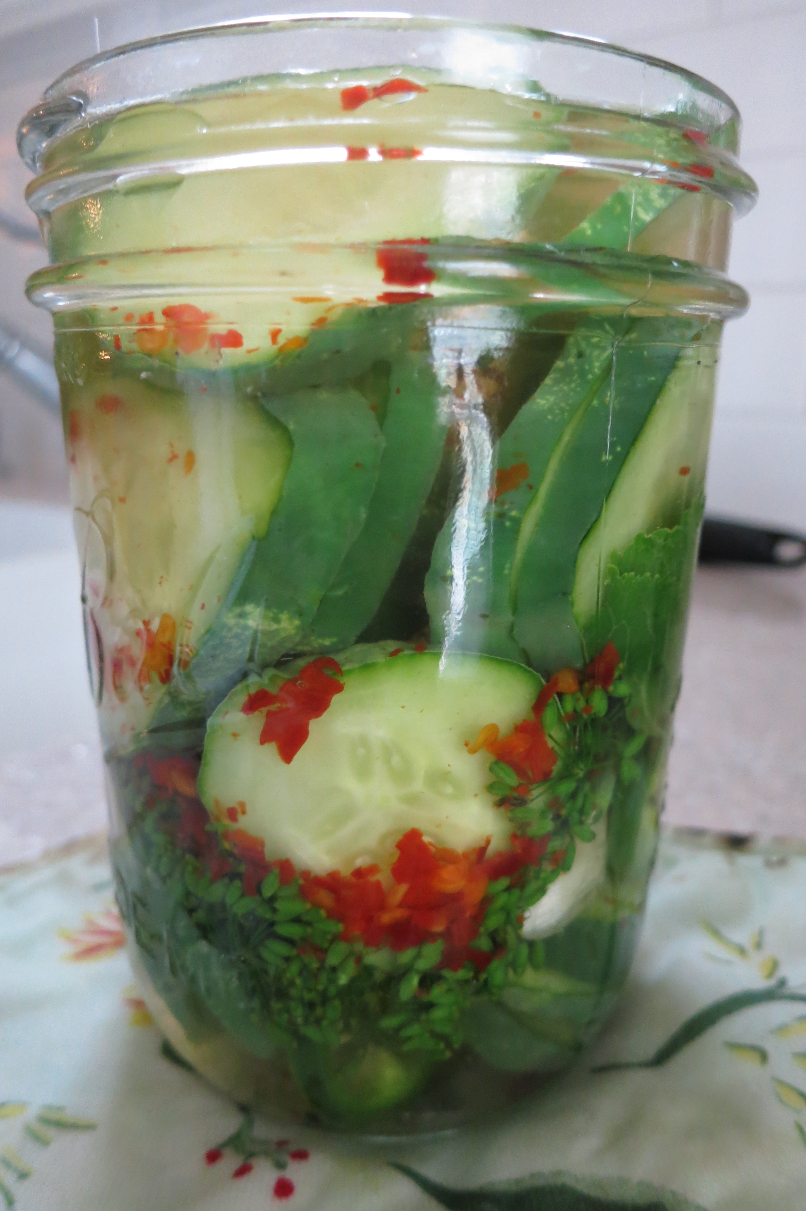 Ornamental Peppers for Pickles