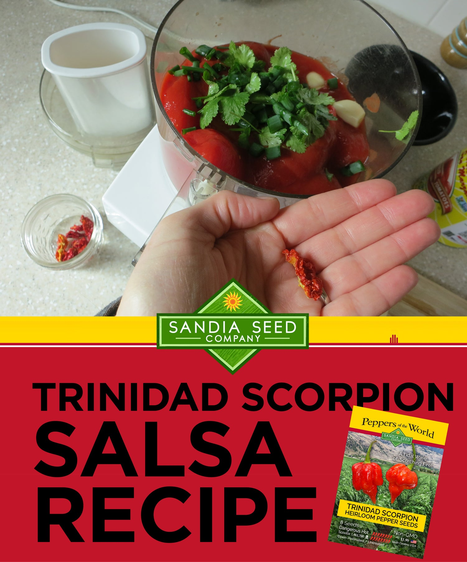 Trinidad Scorpion Salsa Recipe