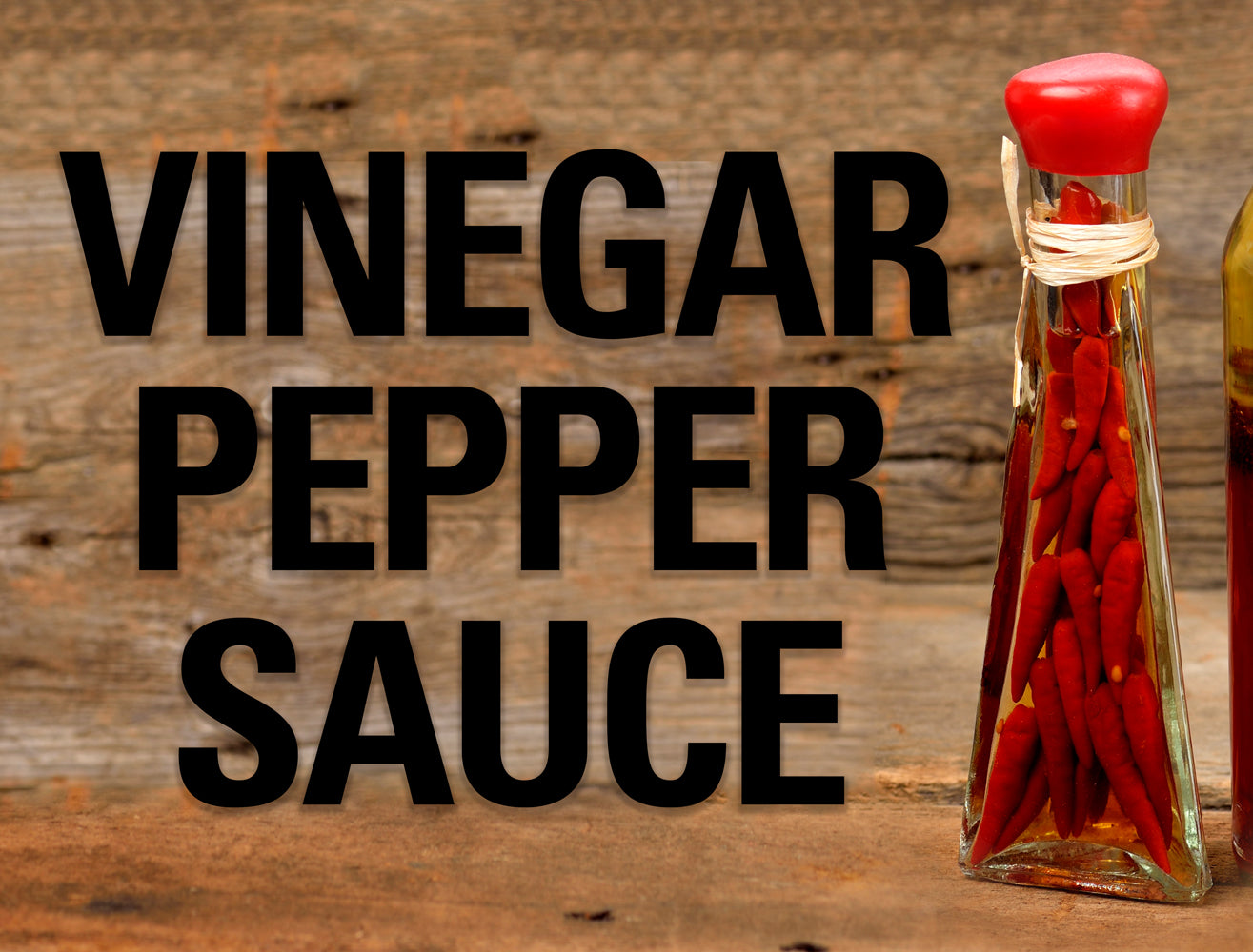 Vinegar Pepper Sauce Recipe