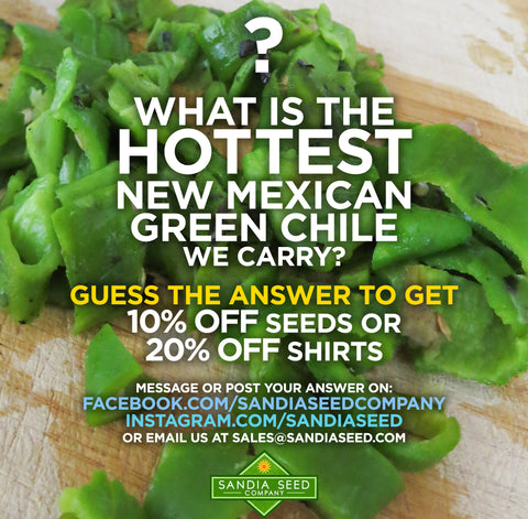 What is the Hottest New Mexican Green Chile?