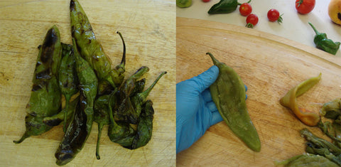 Roasting your own Hatch Chiles