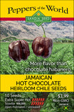 Jamaican Hot Chocolate Habanero Seeds